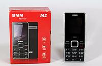 """Мобильный телефон M2 1.7"""" Black, компактный телефон, кнопочный мобильный телефон"""