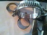 Хомут червячный Norma W2 16-27 мм (нержавеющий), фото 2