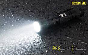 Фонарь Nitecore MT20C (Cree XP-G2 R5, 460 люмен, 10 режимов, 1x18650), фото 2