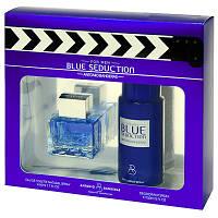 Набор подарочный Antonio Banderas Blue Seduction set (edt 100ml+deo 150ml) оригинал