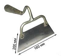 Тяпка 160 мм нержавейка