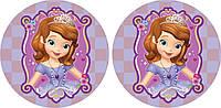 Принцесса София 15 Вафельная картинка