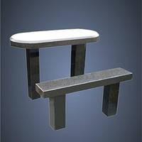 Столы и лавочки гранитные (Образец 608)