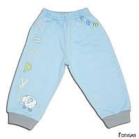 Детские байковые штаны ИГРУШКИ