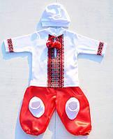 Крестильный наряд с шароварами для новорожденных мальчиков