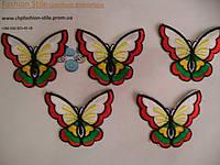 Аппликация клеевая бабочки10шт в упак