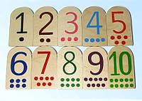 Деревянная игра Набор цифр Д572у Руди