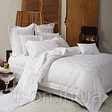 Комплект постельного белья из жаккарда love you евро 1-23