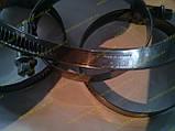 Хомут червячный Norma W2 40-60 мм (нержавеющий), фото 3