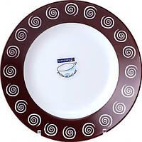 Lum Sirocco Brown Тарелка глубокая круглая  22,5см, H4886 (164627) /П1