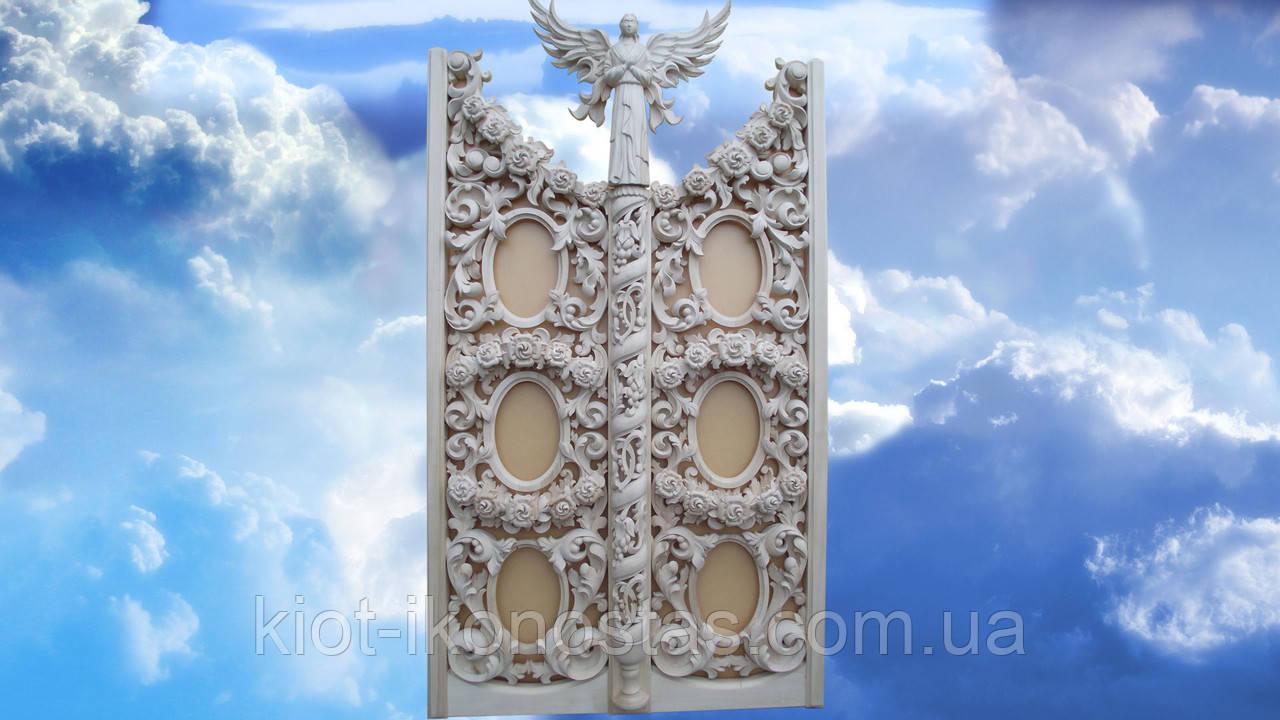 Царские Врата в Барочном стиле,натуральное дерево