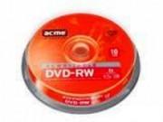 Компьютерный диск ACME DVD - RW 4.7 GB CB 4x 10 штук