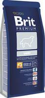 Brit Premium Light 3 кг-Низкокалорийный сухой корм для собак всех пород .