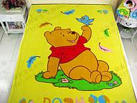 Воздушный флисовый плед для детей