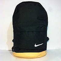 Рюкзак большой с кожаным дном найк, фото 1