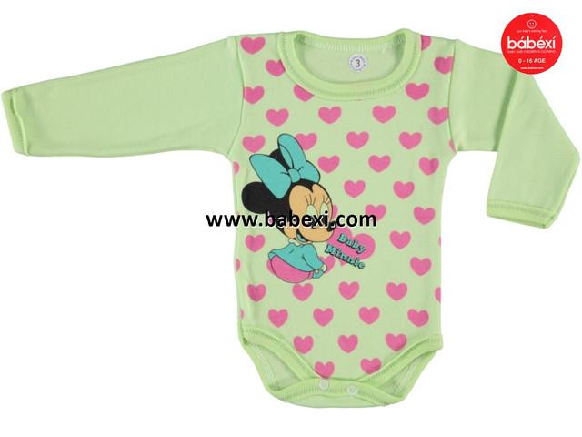 Бодик Baby Minnie на девочку 62, 68, 74, 80 см