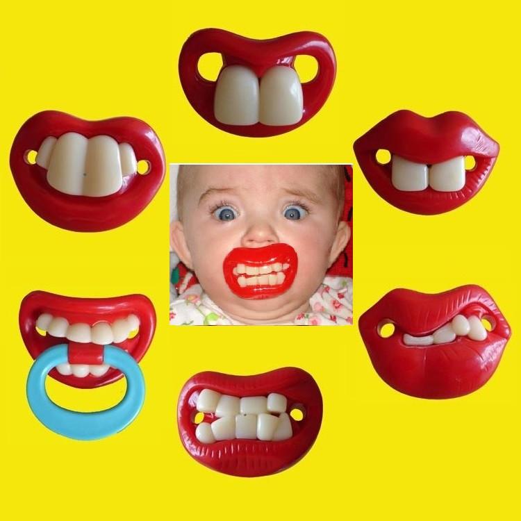Соски с зубками