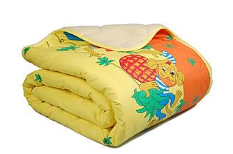 Одеяло полуторное 140х205 Бязь + мех Homeline, фото 2