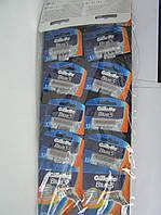 Gillette жиллетт Blue 3 станок мужской одноразовый на листе10 шт.(цена за одну шт.), фото 1