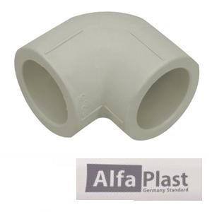 Колено соединительное ППР Alfa Plast 32х90°