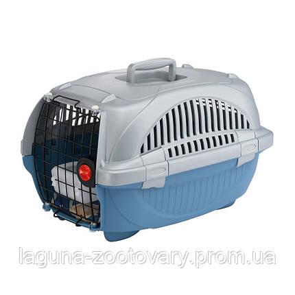 "Пластиковая переноска ""Атлас Делюкс"" 34х50,7х30см для собак, кошек, мелких грызунов до 6кг, фото 2"