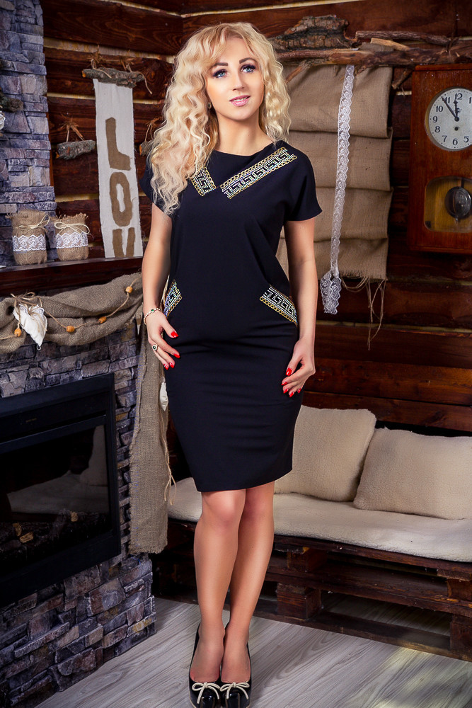 Нарядное женское платье, размеры 44 - 56 - Оптово-розничный интернет-магазин  Fashion fed4a869a04