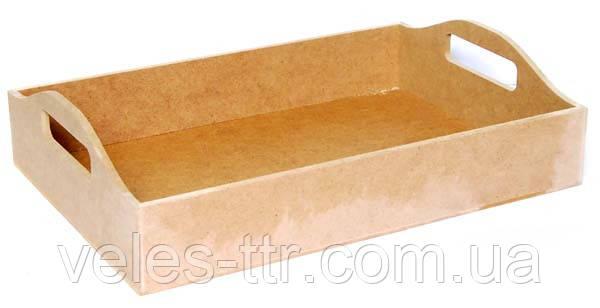 Поднос 37х26,5х6,5 см мдф заготовка для декора