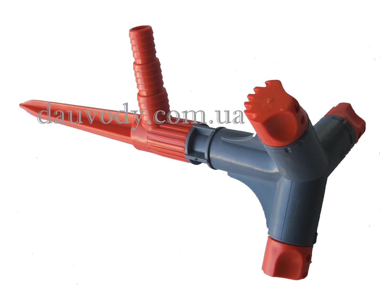 Распылитель 3-х ходовой малый (вертушка 3-х ходовая) SLD