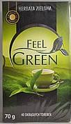 Чай зеленый Feel Green  , 40 пак