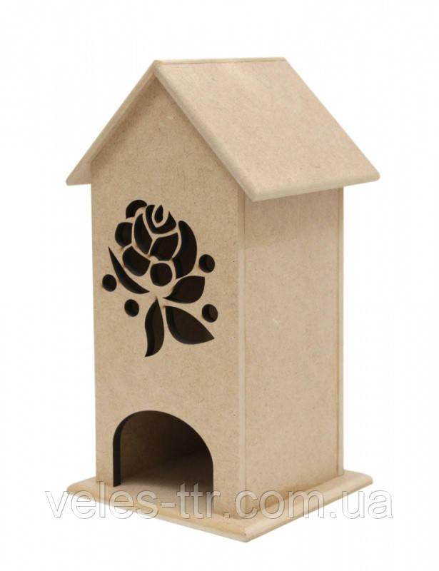 Чайный домик Цветочный орнамент