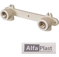 Планка под смеситель PPR 20*1/2 ВР Alfa Plast