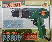 Сетевой шуруповерт PROCRAFT РВ800