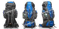 Рюкзак туристический JINSHI 80+5, водонепроницаемый