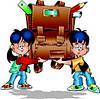 Поступление ранцев и рюкзаков для школьников
