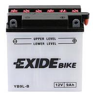Мото аккумулятор EXIDE YB9L-B