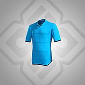 Футболка BestTeam SC-13018 (голубой/т.синий)