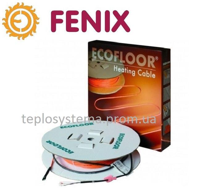 Тонкий двухжильный нагревательный кабель FENIX ADSV - 10 Вт/м, 1100 Вт, Чехия