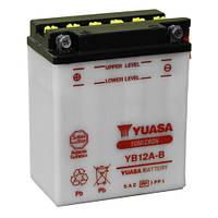 Мото аккумулятор YUASA YB12A-B