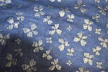 Шифон и кожа [Цвета в оссортименте] (Цвет Синий)