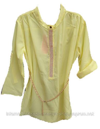Детская блузка на девочку