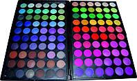 Палитра теней для макияжа P-120-03 YRE, профессиональные палитры купить, палетка теней на 120 цветов
