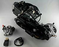 """Двигатель скутер 4Т 139QMB 80см3 колесная база 10"""" один амортизатор"""