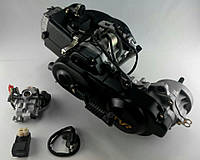 """Двигатель скутер 4Т 139QMB 80см3 (колесная база 10"""") TVR"""