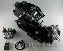 """Двигатель скутер 4Т 139QMB 80 см3 колесная база 12"""" два амортизатора"""