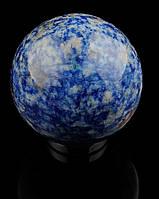 Необычный шар из лазурита