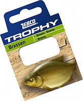 Zebco Готовые поводки Trophy Hooks to Nylon Bream (Лещ).70см. (10шт) (Готовые поводки №6 Trophy Hooks to Nylon Bream 0,20mm .70см. (10шт))