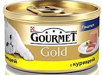 Консервы для кошек Gourmet Gold с курицей, 85г