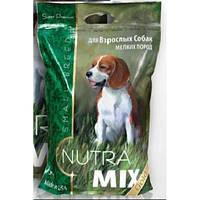 Корм Nutra Mix Gold Small Breed Adult для собак малых, миниатюрных пород, 3кг