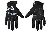 Мотоперчатки , вело рукавиці, закрытые FOX - 360 (р-р M, L, XL) , (black)