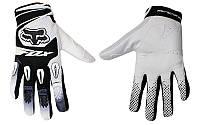 Мотоперчатки , вело рукавиці, закрытые FOX DIRTPAW (р-р M, L, XL) , (white), фото 1